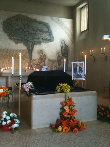 The Chapel of Hope, funeral of Feri Sved